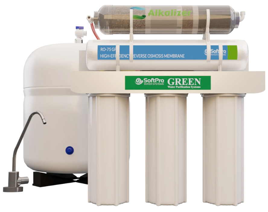 Green home water filtration